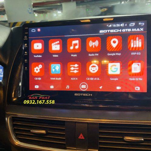 Màn hình Android Gotech GT8 cho ô tô