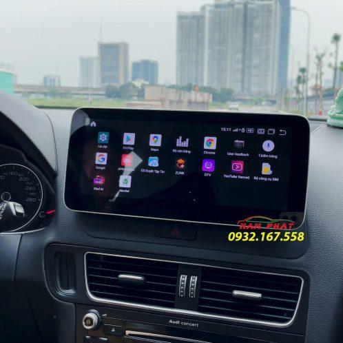 Audi Q5 lắp màn hình Android Oled Pro