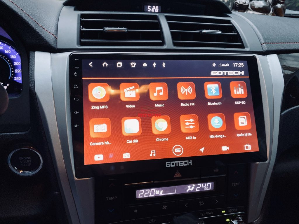 Man-hinh-android-gotech-GT10-Pro-Toyota-Camry